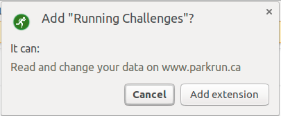 Running Challenges in the Chrome Web Store